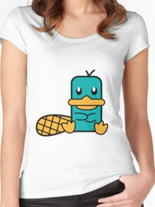 Cute Perry Women's Fitted Scoop T-Shirt