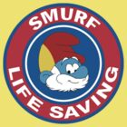 Smurf Life Saving by Diabolical