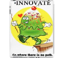 INNOVATION CARTOON QUOTE iPad Case/Skin