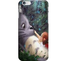 Totoro with Mei iPhone Case/Skin