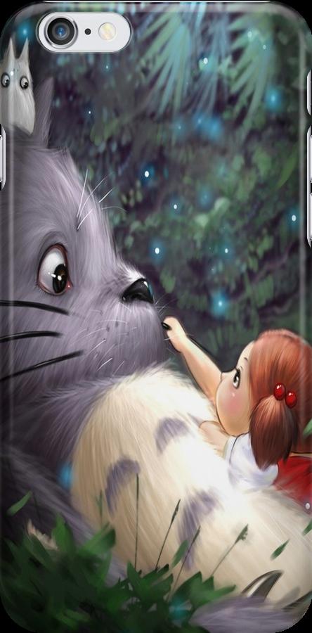 Totoro with Mei by Totorooo