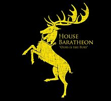 Baratheon House Emblem - Game of Thrones by FaizanQM