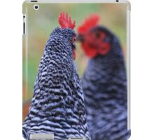 Mirrored Roosters iPad Case/Skin