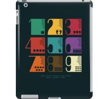 Numbers iPad Case/Skin