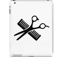 Comb & Scissors iPad Case/Skin