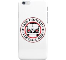 Air Cooled VW Bus iPhone Case/Skin