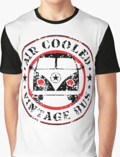 Air Cooled VW Bus Graphic T-Shirt