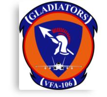 VFA - 106 Fighter Squadron - Gladiators Canvas Print