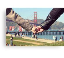 Love in San Francisco Canvas Print