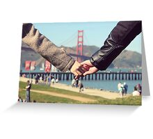 Love in San Francisco Greeting Card