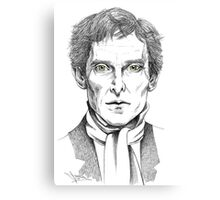 Portrait of Jeremy Brett  Canvas Print