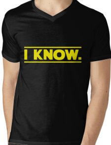 I know. Mens V-Neck T-Shirt