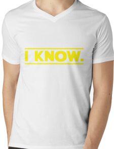 I know. Mens V-Neck T-Shirt