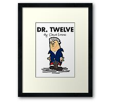Dr Twelve Framed Print