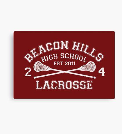 Beacon Hills Lacrosse Canvas Print