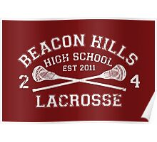 Beacon Hills Lacrosse Poster
