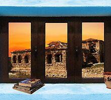 Window Into Greece 5 by Eric Kempson