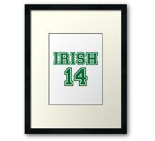 Irish St. Patrick's day 2014 Framed Print