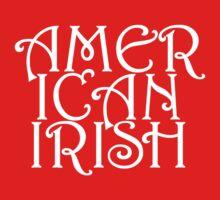 American Irish Kids Tee