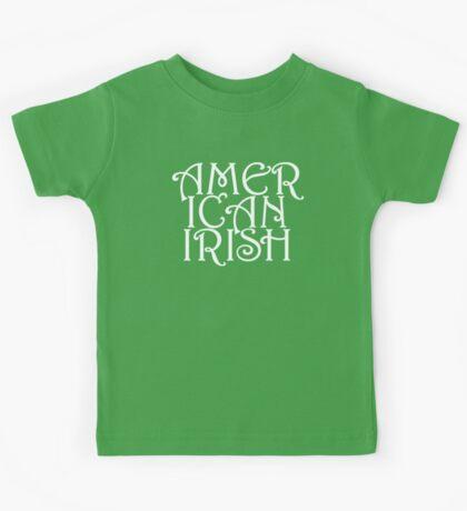 American Irish Kids Tee