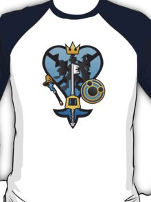 (Kingdom Hearts) All for One and One for All T-Shirt