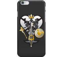 (Kingdom Hearts) All for One and One for All Silver/Gold iPhone Case/Skin