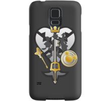 (Kingdom Hearts) All for One and One for All Silver/Gold Samsung Galaxy Case/Skin
