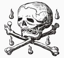 Skull & Crossbones Kids Clothes