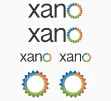 Xano - 6 piece -Mix Logo set by xano-stickers