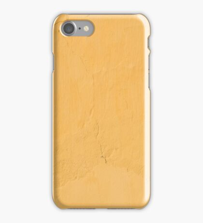 Yellow painted wall iPhone Case/Skin