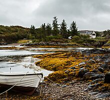 The Bay - Drumbuie, Scotland by David Lewins