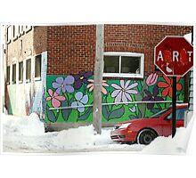 Montréal - Où s'arrête l'Art ?... Poster
