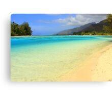 Moorea Island Paradise Canvas Print