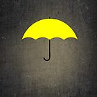 You are my Yellow Umbrella by Sophersgreen