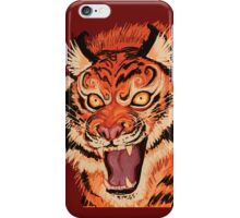 Beautiful Tiger Ferocity  iPhone Case/Skin