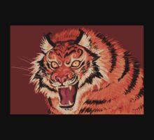 Beautiful Tiger Ferocity  Kids Clothes