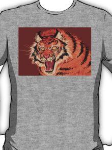 Beautiful Tiger Ferocity  T-Shirt