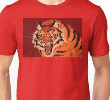 Beautiful Tiger Ferocity  Unisex T-Shirt
