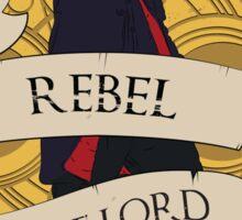 Rebel Time Lord Sticker
