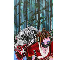 Princess of the Wolves  Photographic Print