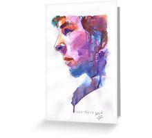 Sherlock: Watercolor Greeting Card