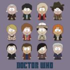 All Twelve The Doctors (South Park) - Doctor Who by robotplunger
