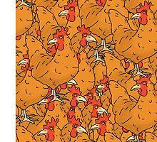 Chicken montage by Eyelash