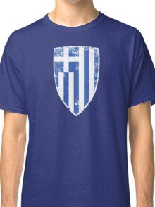 Greece Flag Classic T-Shirt