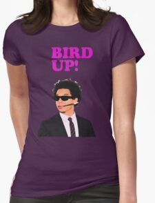 Bird up! Womens Fitted T-Shirt