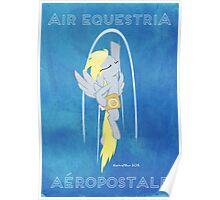 Equestria Aéropostale Poster
