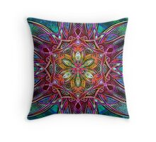 Mandala HD 3 Throw Pillow