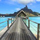 Pier - Bora Bora by Honor Kyne