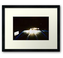 People may come, people may go Framed Print