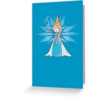 The Ice Queen Greeting Card